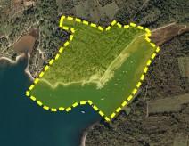 Spatial extent of the Santa Marina bay area